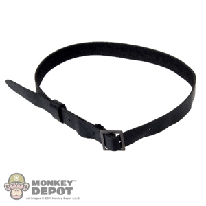 Belt: DiD Black Leatherlike Belt
