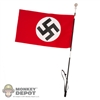 "Flag: DiD German WWII ""Blood Flag"""