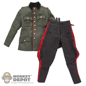 Uniform: DiD German WWII Guderian Tunic, Breeches & Insignia