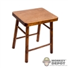 Stool: DiD Wooden Stool/Seat