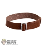 Belt: DiD German WWII Officer Brown w/Silver Buckle