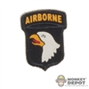 Insignia: DiD US WWII 101st Airborne Patch (Peel & Stick)