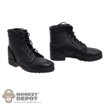 Boots: DiD German WWII Short Black Boots