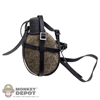 Canteen: DiD German WWII w/Strap