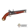 Pistol: DiD Cavalry Flintlock (Wood & Metal)