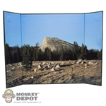 "Display: DiD Mountain Tree Line (18.5"" X 13.5"")"