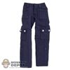 Pants: DiD Female Blue Cargo Pants