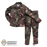 Uniform: DiD Woodland-Camo RAID BDU