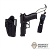 Pistol: DiD MK24 w/CQC Serpa Holster & Sidearm Retracting Tether