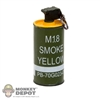Grenade: DiD Yellow Smoke Grenade
