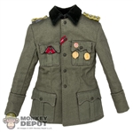 Tunic: DiD German WWII M36 w/Medals