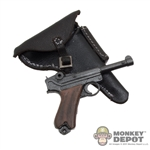 Pistol: DiD German Luger w/Leatherlike Holster