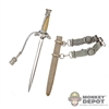 Knife: DiD German Dress Dagger w/Scabbard