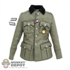 Tunic: DiD WWII German M36 Tunic w/Medals