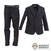 Suit: DiD Black Two Piece Suit w/Belt