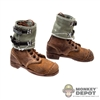 Boots: DiD German WWII Brown Boots w/Gaiters