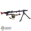 Rifle: DiD WWII German MG34 (Metal)
