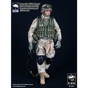 Boxed Figure: DAM 75th Ranger GRENADIER Task Force Ranger (DAM-93002)