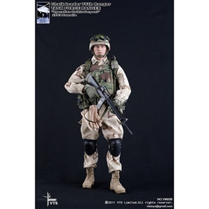 Boxed Figure: DAM 75th Ranger CHALK Task Force Ranger (DAM-93001)