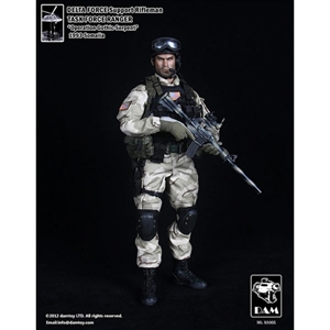 Boxed Figure: DAM Delta Force Support Rifleman Task Force Ranger - Operation Gothic Serpent-1993 Somalia (93005)