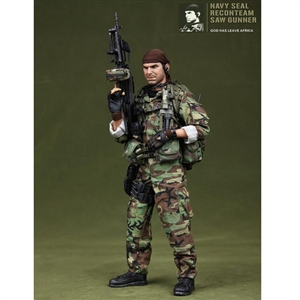 DAM Navy Seal Recon Team Saw Gunner (93012)