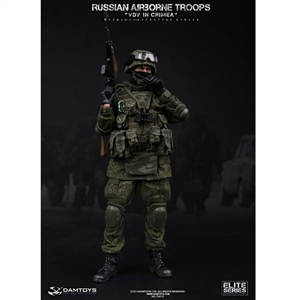 "Boxed Figure: DamToys Russian Airborne Troops ""VDV"" In Crimea (78019)"