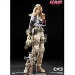 Boxed Figure: DamToys Combat Girls Series Gemini - Zona (DAM-DCG001)