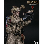 Boxed Figure: DamToys DEVGRU K9-Handler in Afghanistan (Dog Not Included) (DAM-78040)