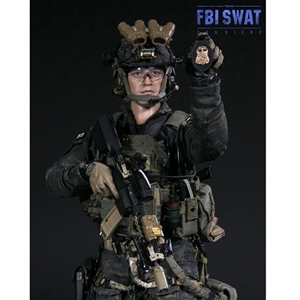 Boxed Figure: DamToys FBI SWAT Team Agent - San Diego Midnight (78044B)