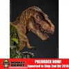 Statue: DamToys Museum Collection Series - Bust Yellow T-Rex (MUS001A)