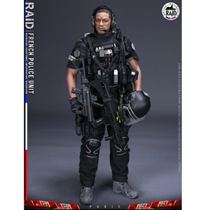 Boxed Figure: DamToys French Police Unit Raid In Paris (DAM-78061)
