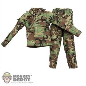 Uniform: DAM SOF Woodland Camo