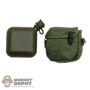 Canteen: DAM US Modern 2 Quart Green Cover