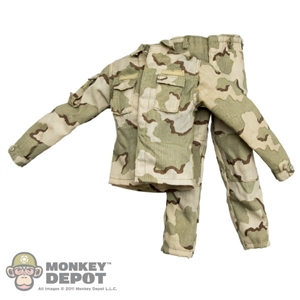 Uniform: DAM Desert Battle Dress 3-Color Sand
