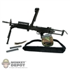 Rifle: DAM MK46 MOD0 w/100R SAW Ammo Box, Ammo and Sling