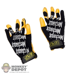 Gloves: DAM Toys Mechanix Work Gloves - Black