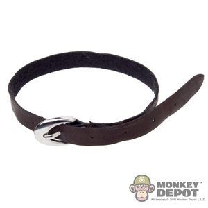 Belt: DamToys Brown w/Big Metal Buckle