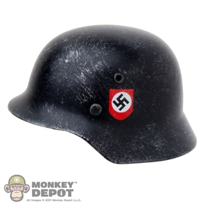 Armband: DamToys Weathered German WWII SS Black Double Decal Real Metal