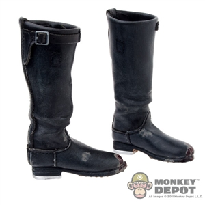 Boots: DamToys Weathered German Cavalry Riding Boots