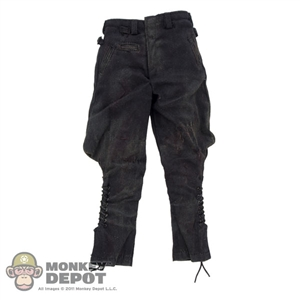 Pants: DamToys Bloodied/Weathered Waffen-SS Black Wool Breeches