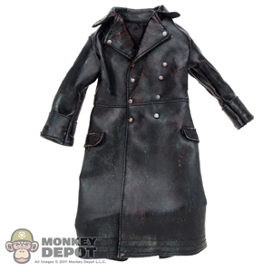 Jacket: DamToys Bloodied/Aged Leather Officer Trench Coat