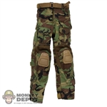 Pants: DamToys Woodland GEN3 Combat Pants w/Belt