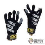 Gloves: DAM Toys Mechanix Work Gloves - Black/Grey