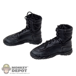 Boots: DamToys Leather Combat Black