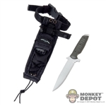 Knife: DamToys Kandahar Combat Knife w/Sheath