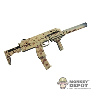 Rifle: DamToys MP7A1 w/RIS, Suppressor & Tango Down Grip