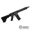 Rifle: DamToys M4 w/2000 Flash hider