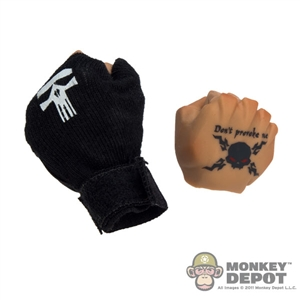 Hands: DamToys Punisher/Tattoo Fist