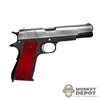 Pistol: DamToys 1911 w/Red Grips