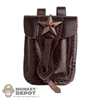 Pouch: DamToys Brown Pouch w/Star Emblem